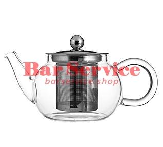Чайник «Проотель»;  термост.стекло;  0,6л;  D=78мм в Тольятти