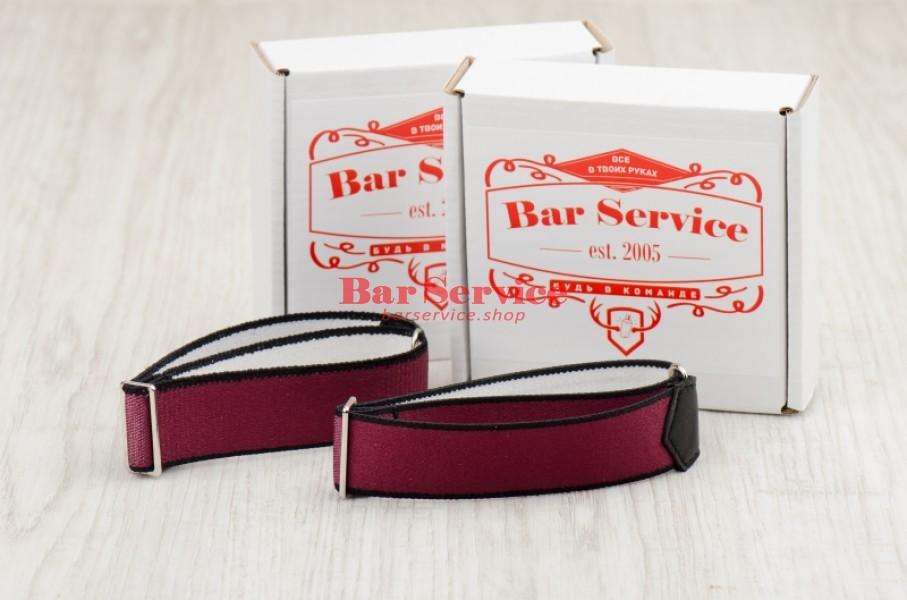 Армбенды, цвет бордо. Bar Service в Тольятти