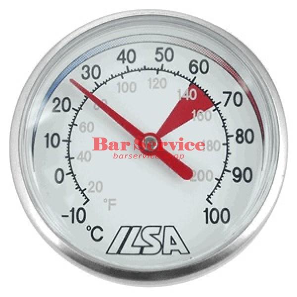 Термометр д/молока; сталь; D=45,L=138/125,B=55мм; металлич. в Тольятти