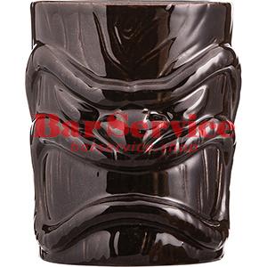 Стакан д/коктейлей «Тики», керамика; 450мл; коричнев. в Тольятти