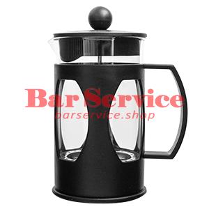 Чайник-кофейник Черный Объем: 600 мл. (френч пресс) в Тольятти