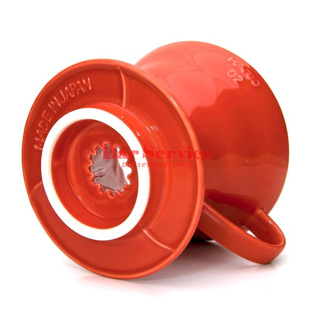 Hario VDC-02R. Воронка керамическая красная. 1-4 чашки в Тольятти