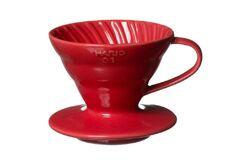 Hario VDC-02R. Воронка керамическая красная. 1-4 чашки в Тольятти left