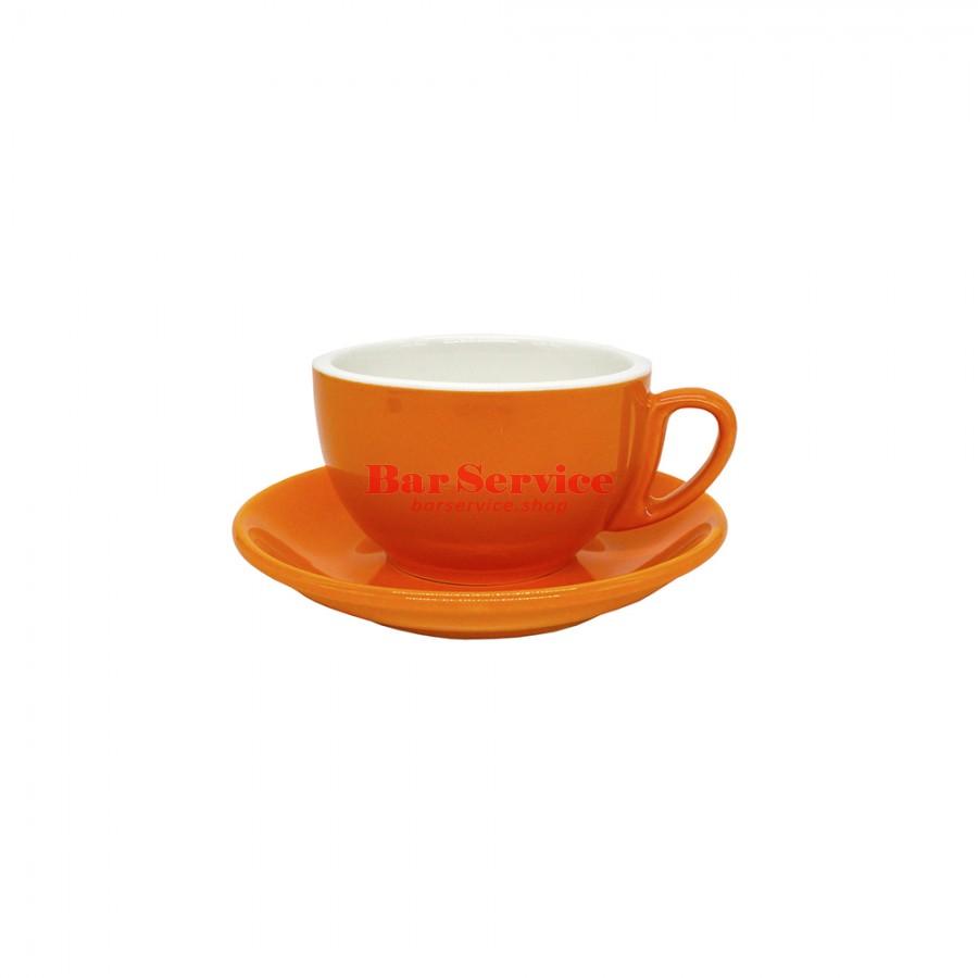 Чайная пара 270 мл; оранжевый цвет; Barista P.L. в Тольятти