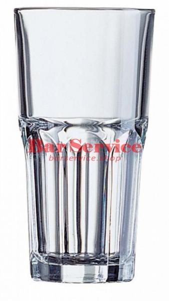 Хайбол «Гранити»;  стекло;  350мл;  D=85,H=120мм;  прозр. в Тольятти